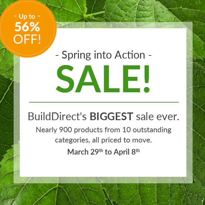 build direct sale event