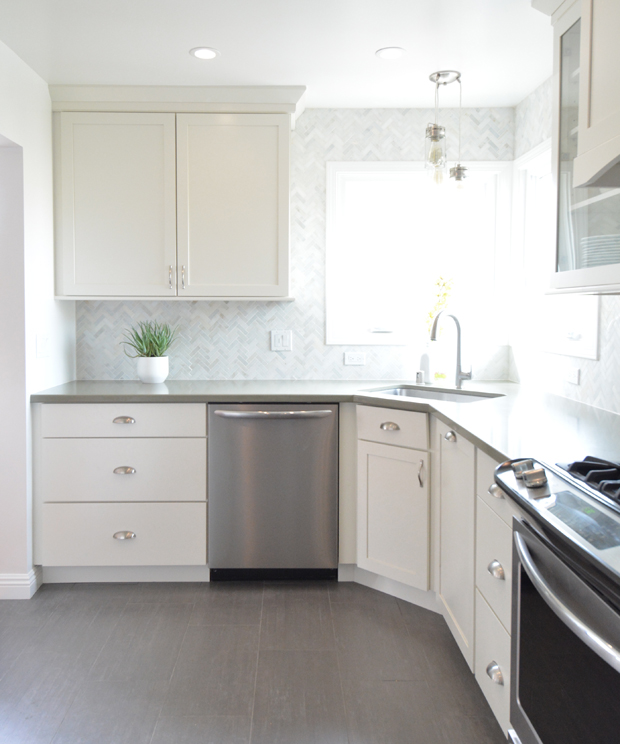 canvas white cabinets