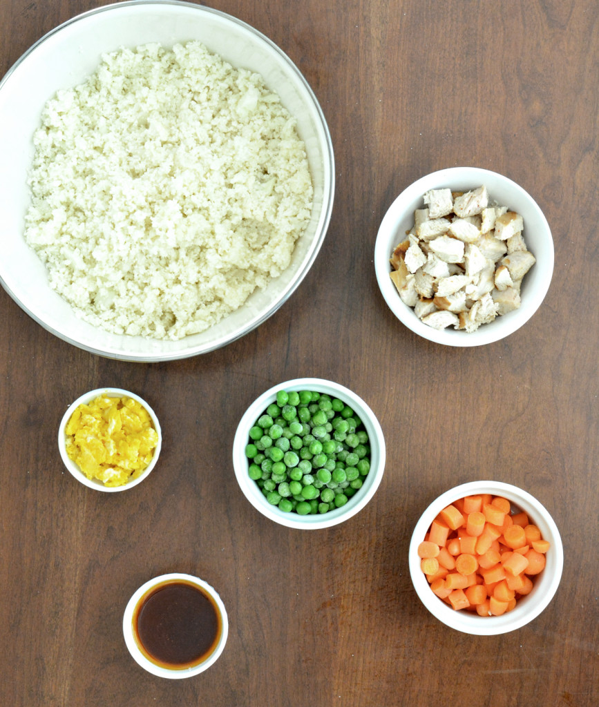 cauliflower fried rice ingredients
