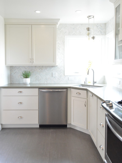 cotton white cabinets