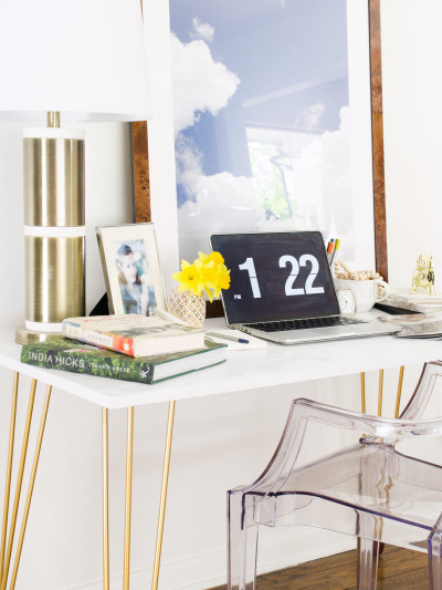 diy hairpin leg desk