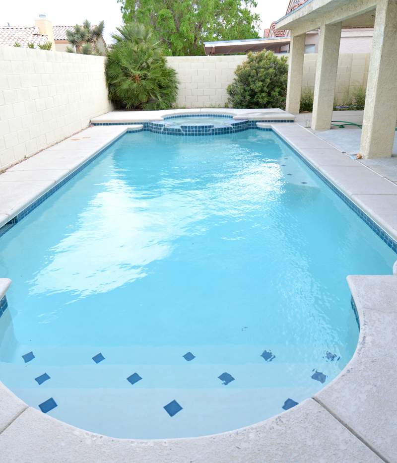 remodeled pool spa