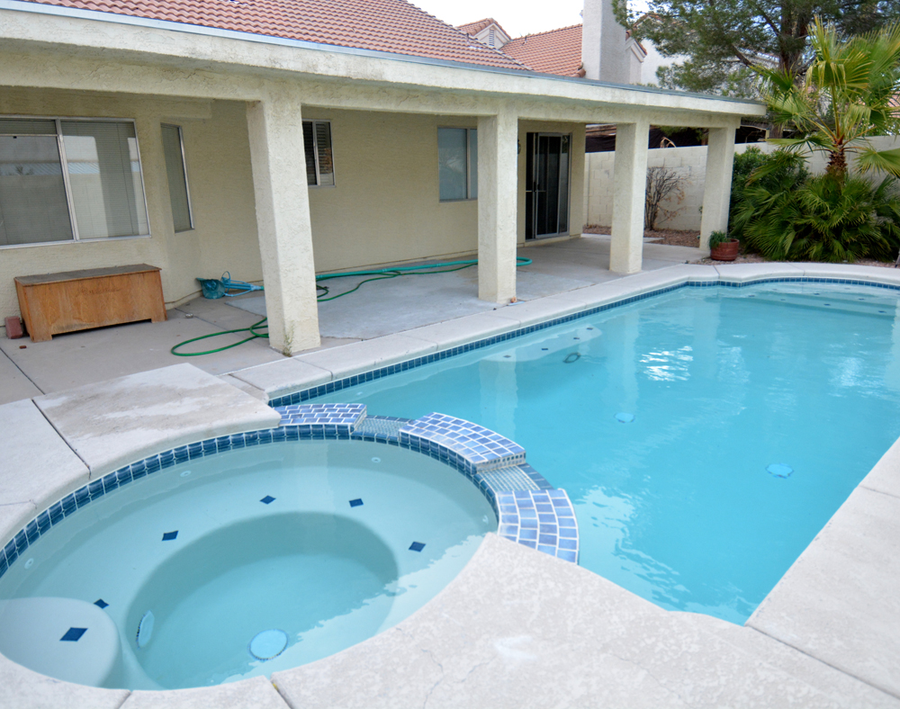 remodeled pool