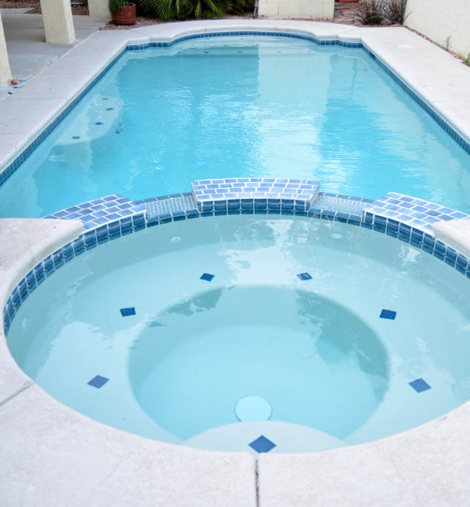 remodeled spa pool