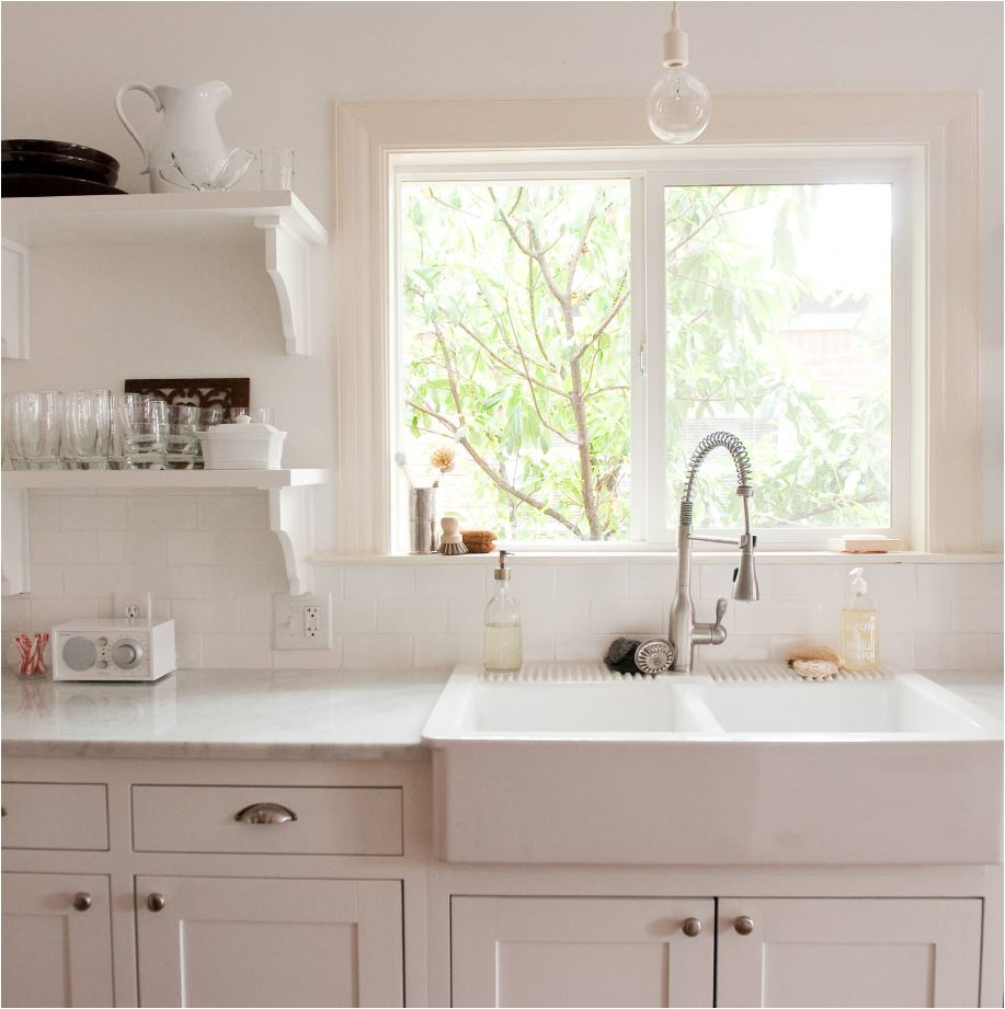 White Apron Sink : white apron sink