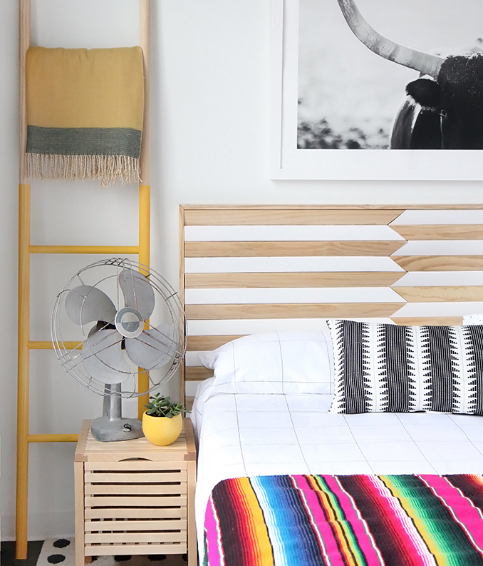 diy wood casing headboard