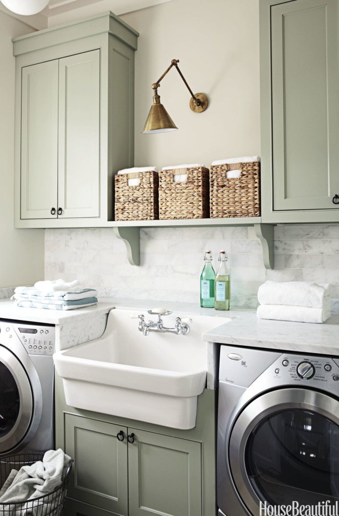 Laundry room makeover ideas centsational girl - Laundry room cabinet ideas ...
