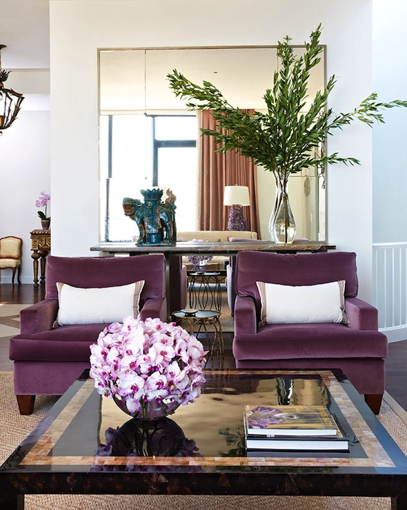 plum accent chairs