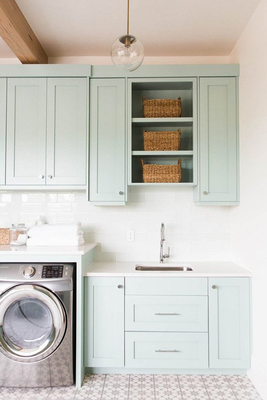 Laundry Room Makeover Ideas | Centsational Girl on Laundry Room Cabinets  id=30982