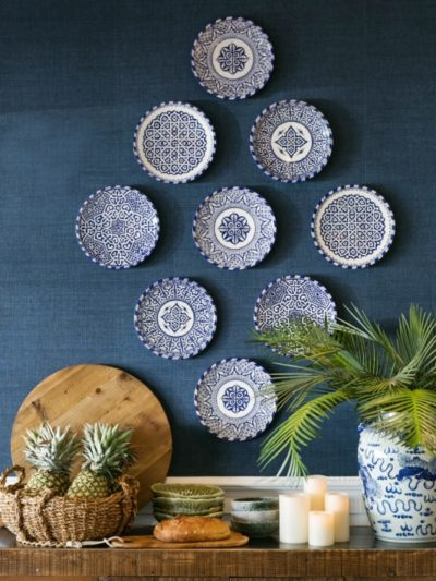 blue white plate gallery