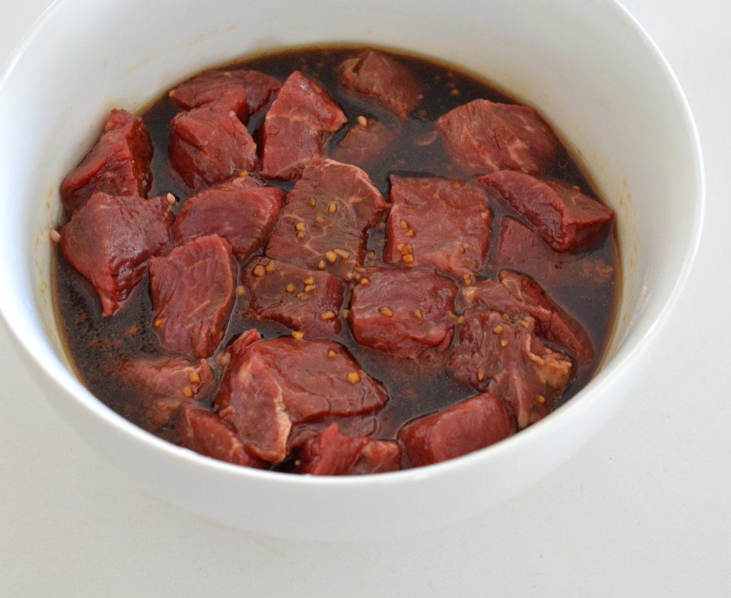 marinate steak