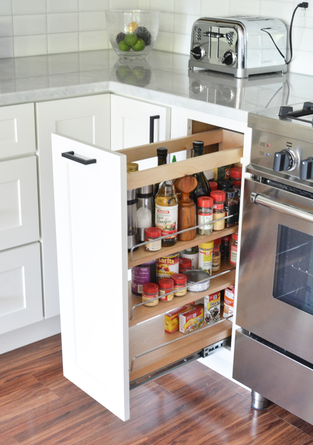 pull out spice drawer