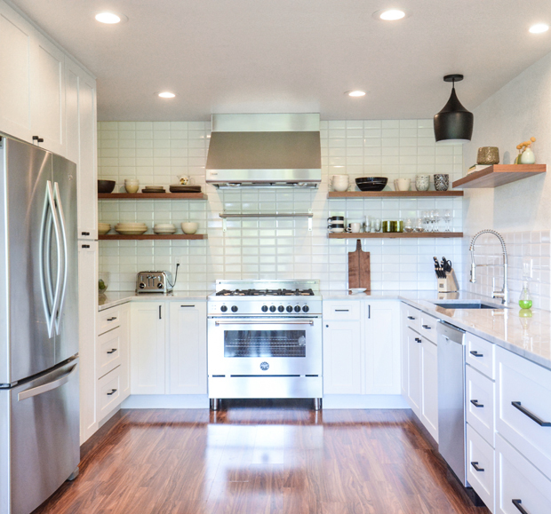 white kitchen cabinet remodel