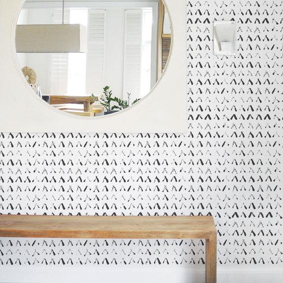 abstract shapes wallpaper