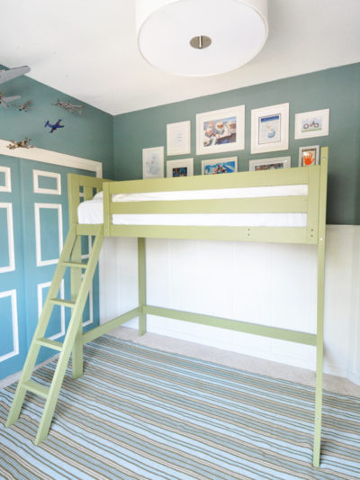 boys room loft bed