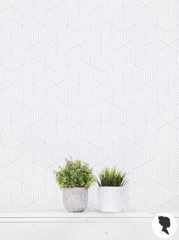 gray cube wallpaper