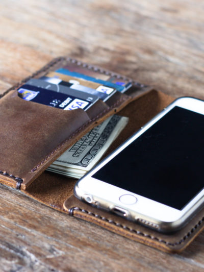 mens iphone wallet