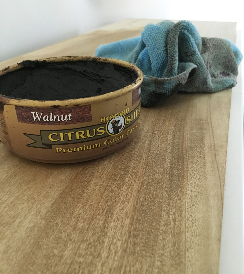 walnut wax