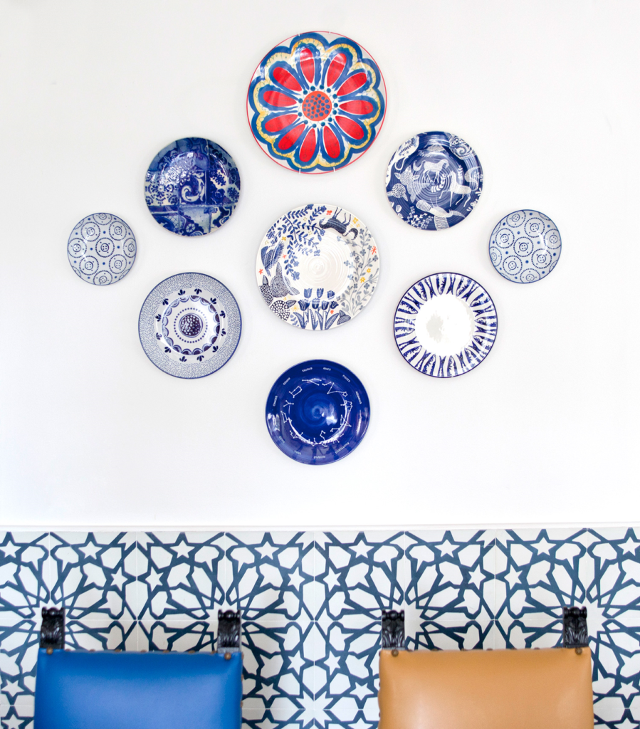 plate wall composition