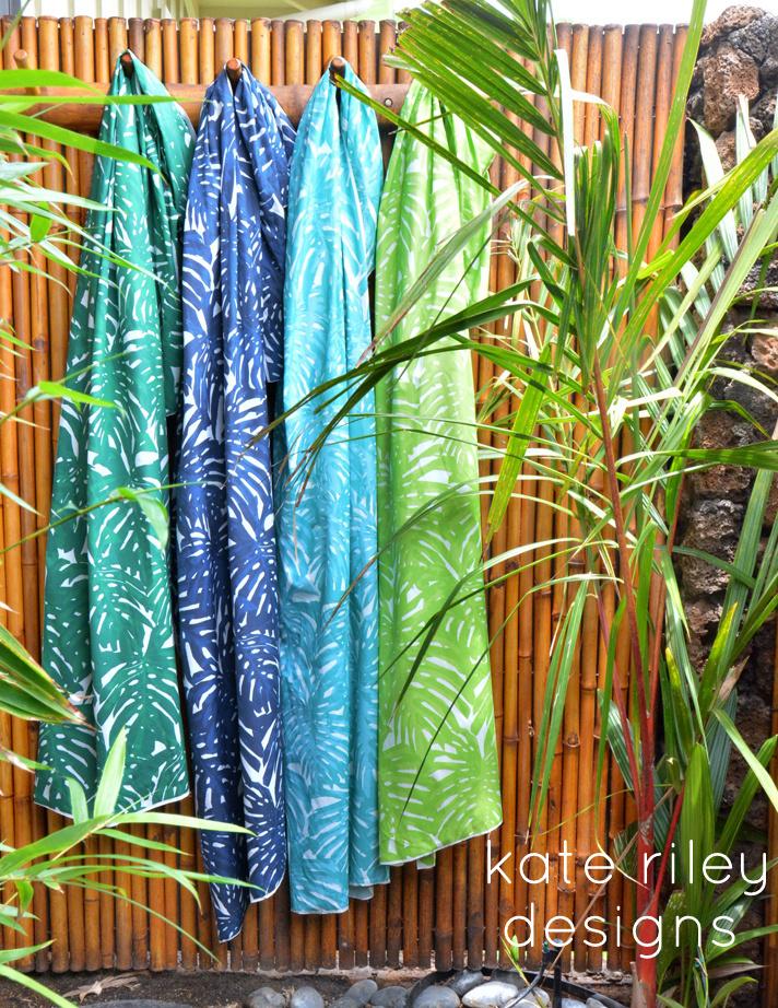 kate riley palm print