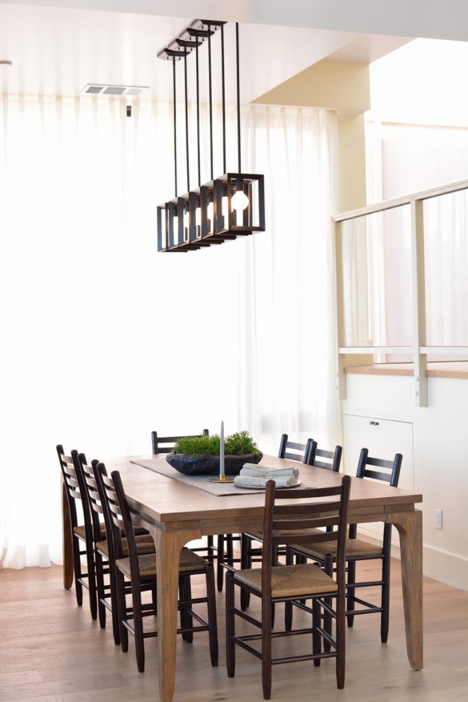 pendant lighting dining