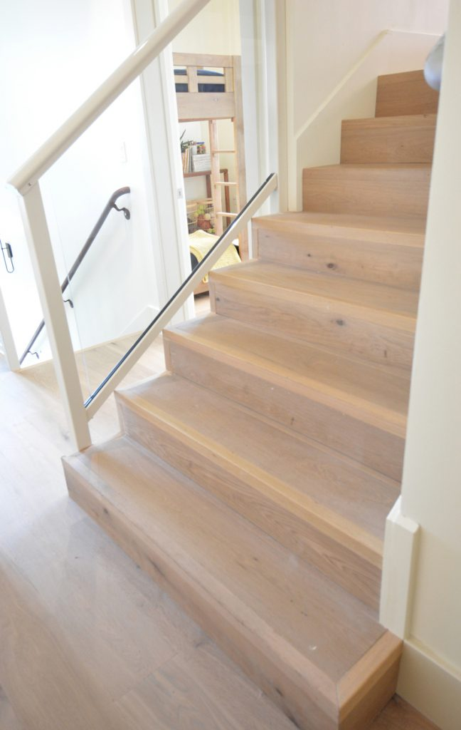 plank stairs floors