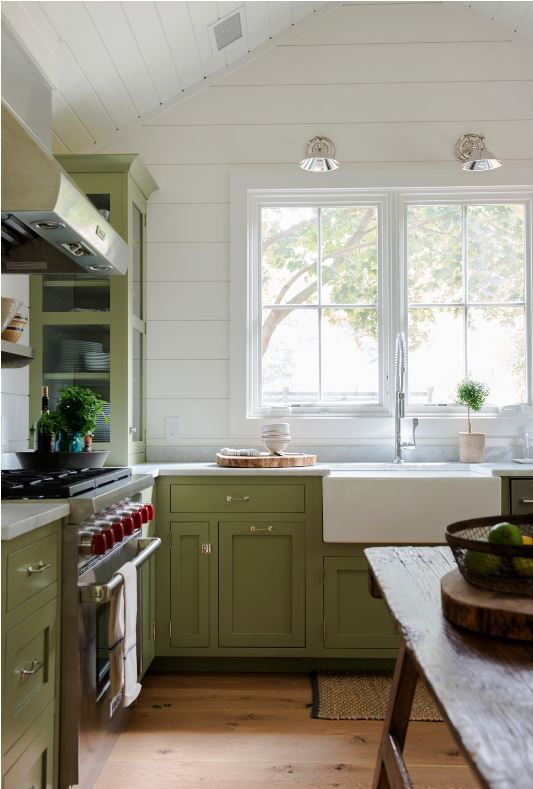 apple green kitchen paint green kitchen cabinets centsational style 4161