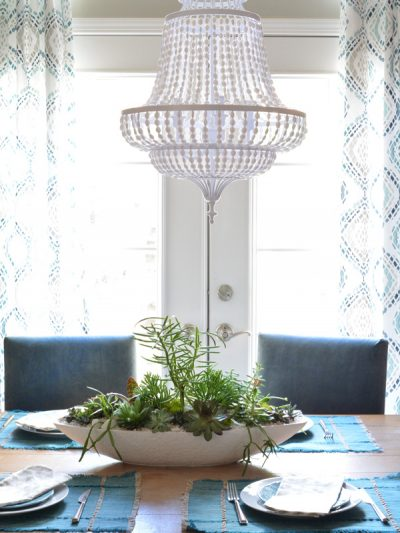 beaded chandelier curtains