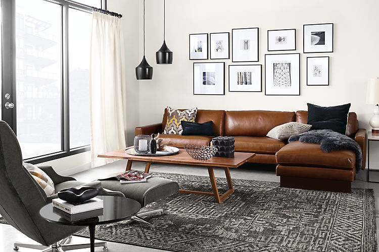 Modern Looks For Leather Sofas Centsational Style
