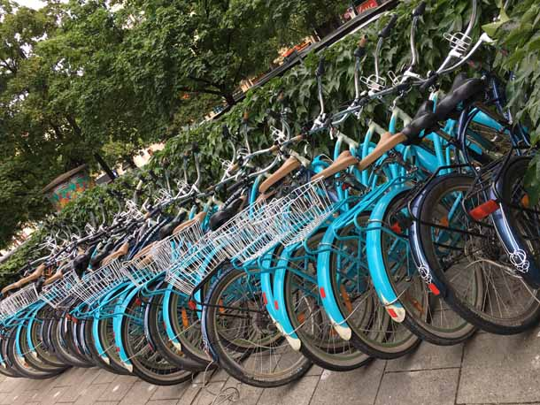 mikes bike rental