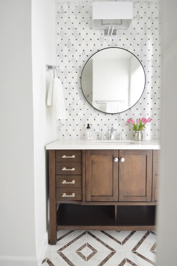 Hall Bathroom Makeover Centsational Style