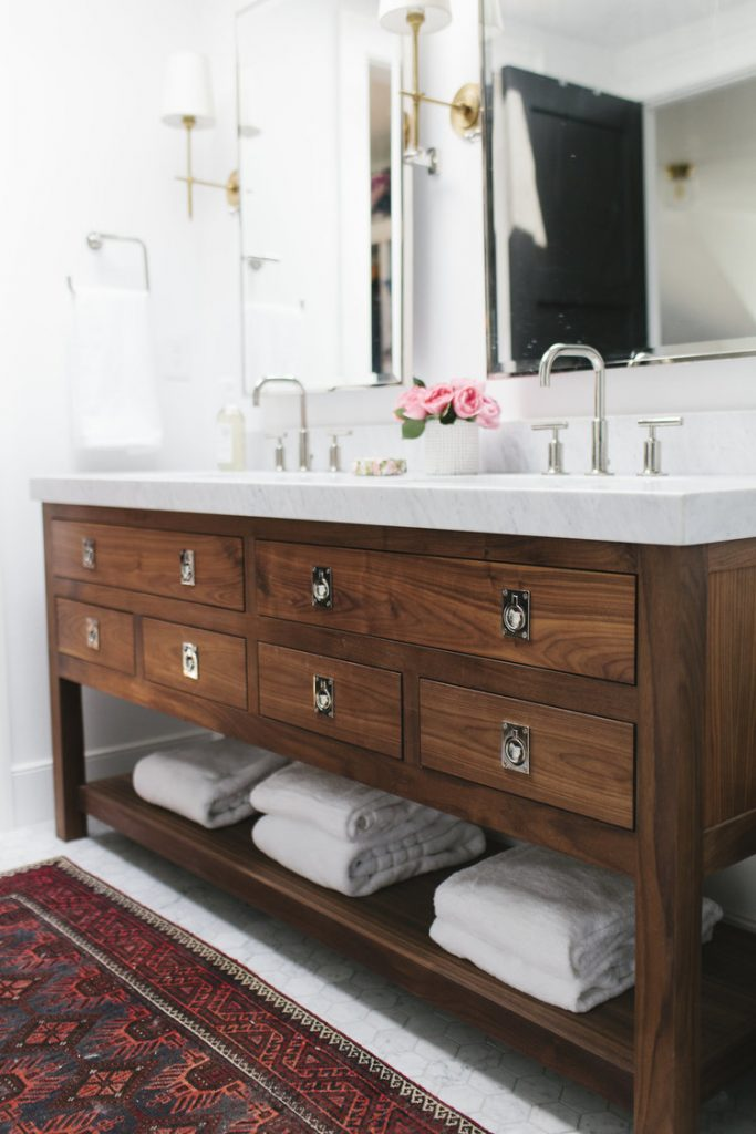Wood Bathroom Vanities Centsational Style