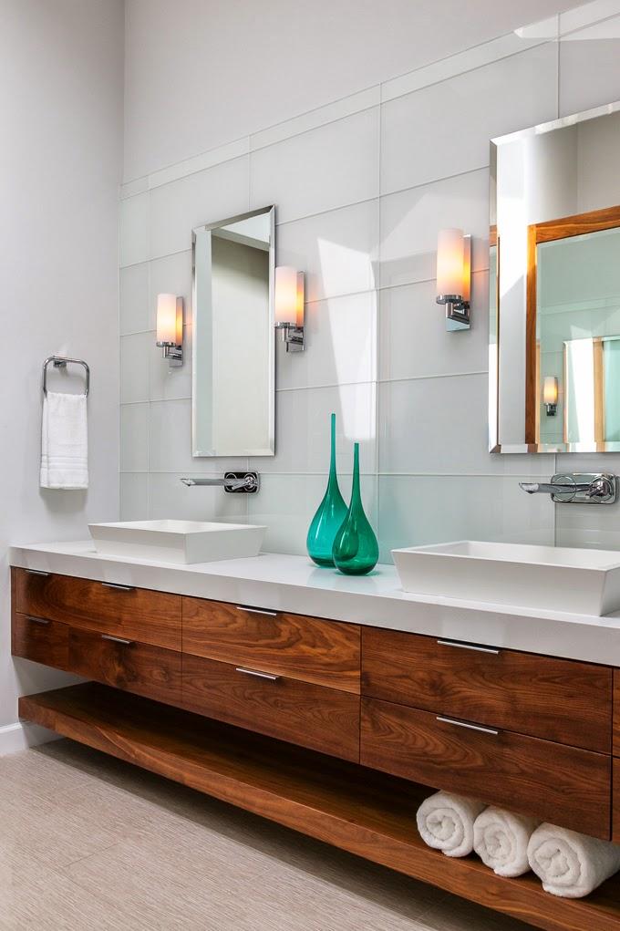 Wood Bathroom Vanities | Centsational Style