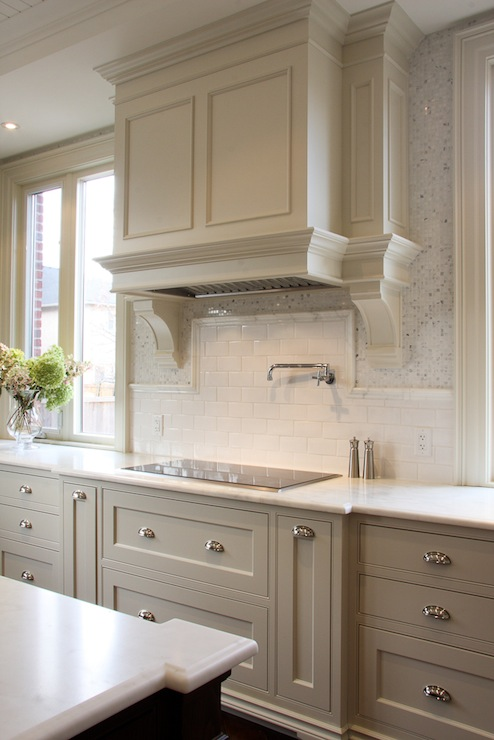 randi destefano - Taupe Kitchen Cabinets
