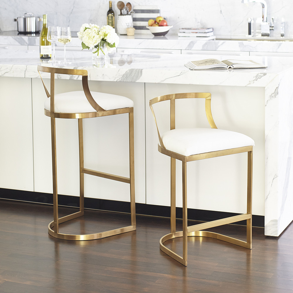 Centsational Style: Trending: Metallic Base Seating