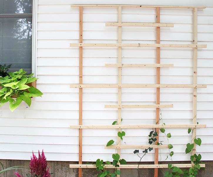 Vertical Garden Supports Centsational Style