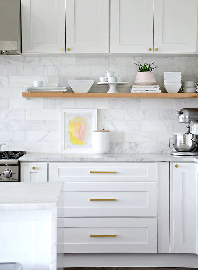 Closed Cabinets v. Open Shelving, Revisited | Centsational ...