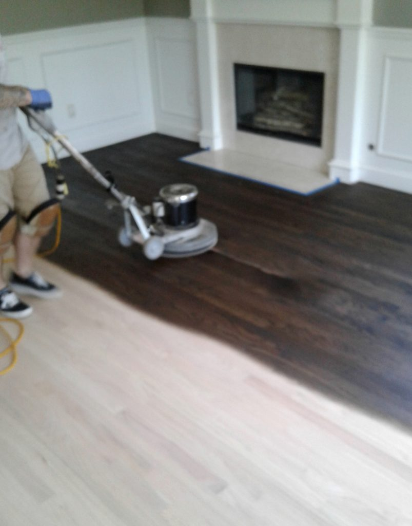 At Last Refinished Hardwood Floors