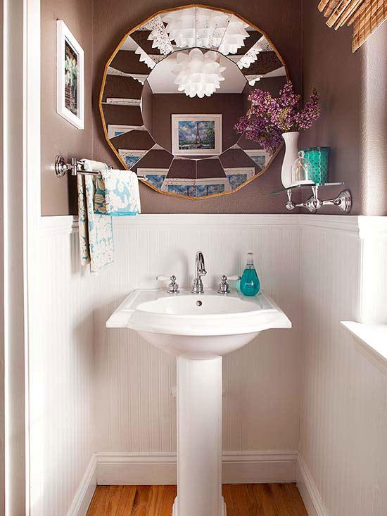 Powder Room Refresh Centsational Style