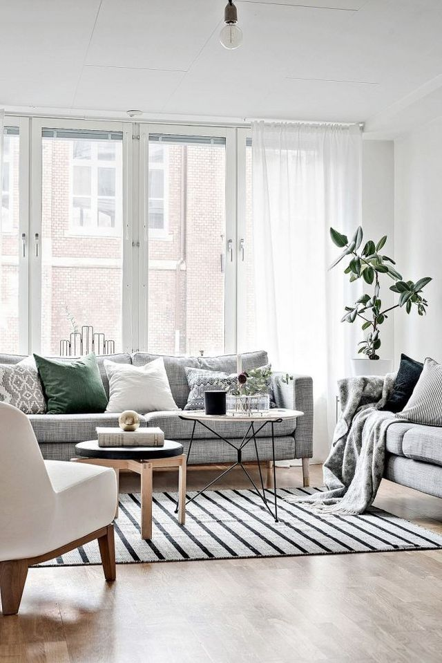Pulling off white walls centsational style - Grey and white walls ...