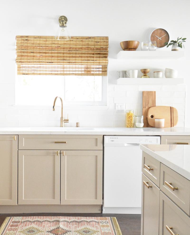 White Modern Kitchen Waplag Appliances Island Big Home: Flip House Kitchen Remodel