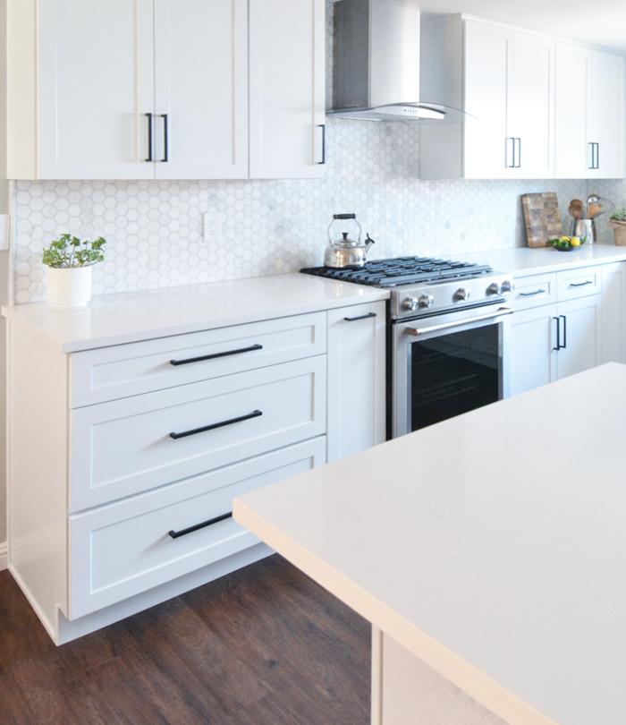 White Kitchen Cabinets 2018: Kassie & David's Kitchen Remodel