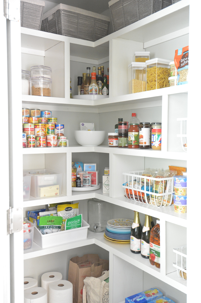 Diy Pantry Shelves Centsational Style