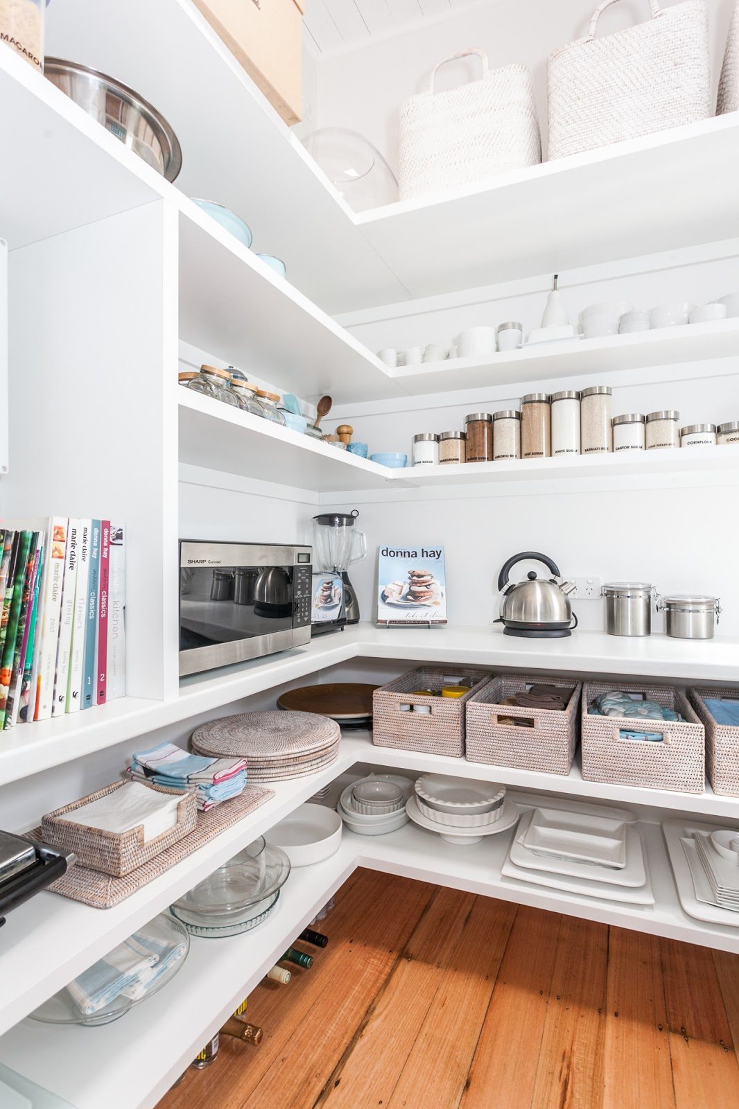 Inspiration for my Walk-In Pantry