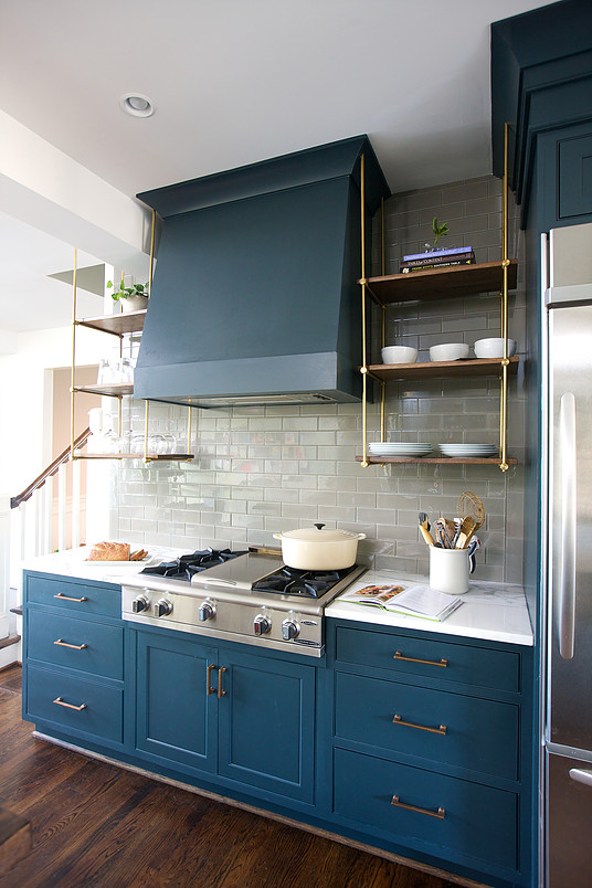 Trending: Suspended Kitchen Shelving | Centsational Style
