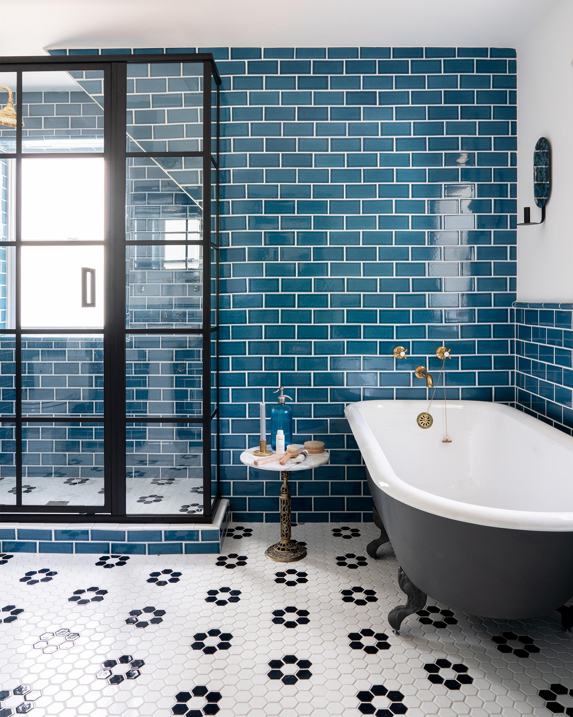 Bold Colorful Bathroom Tile