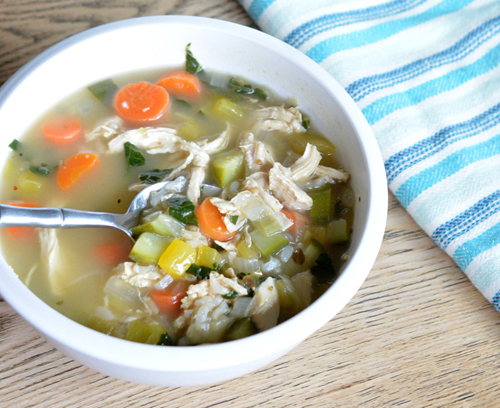 Detox Chicken & Vegetable Soup