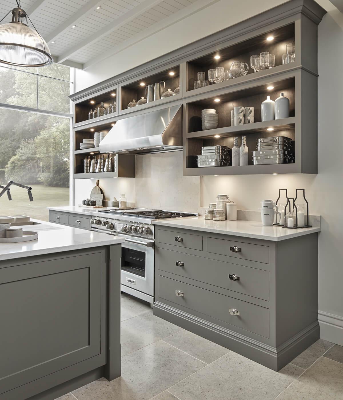 Kitchen Design Alternatives for Upper Cabinets   Centsational Style