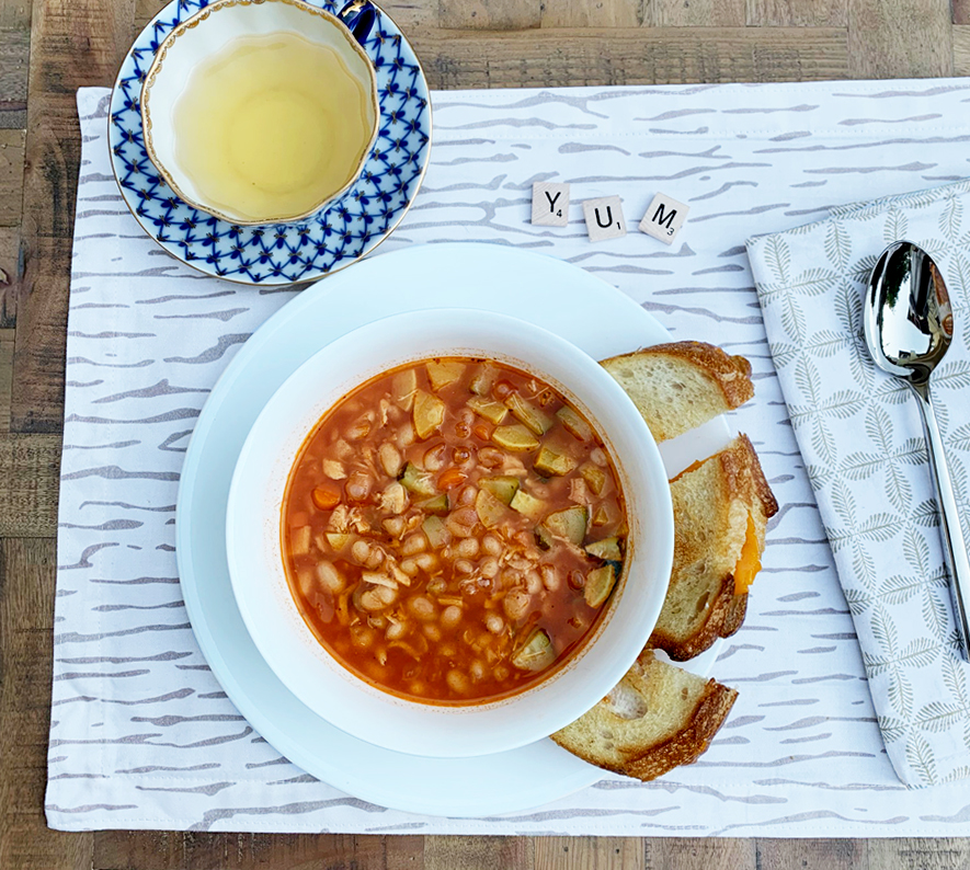 Simple Vegetable Bean Soup + More Soup Recipes to Try