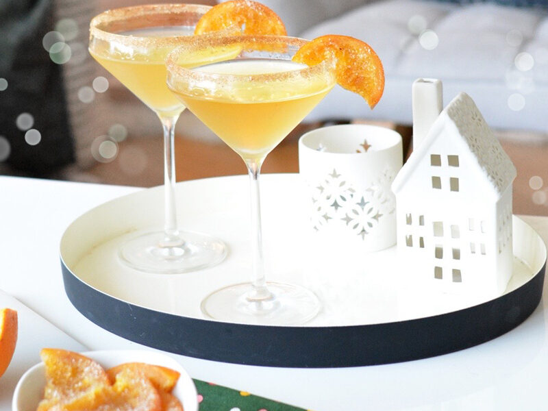 Spiced Orange Cocktail